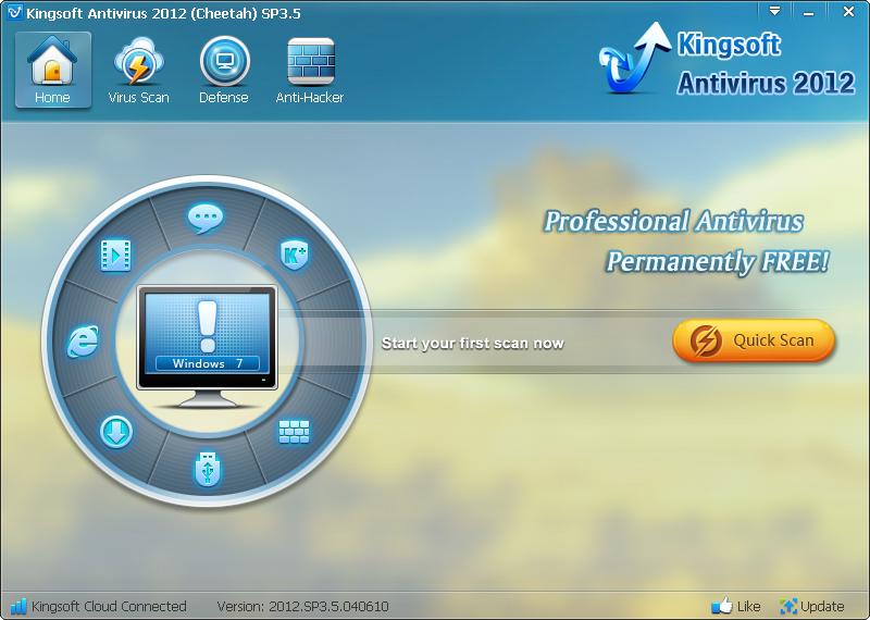 Re: Kingsoft AntiVirus. Июль 06, 2012, 09:00:05 am. Софт по